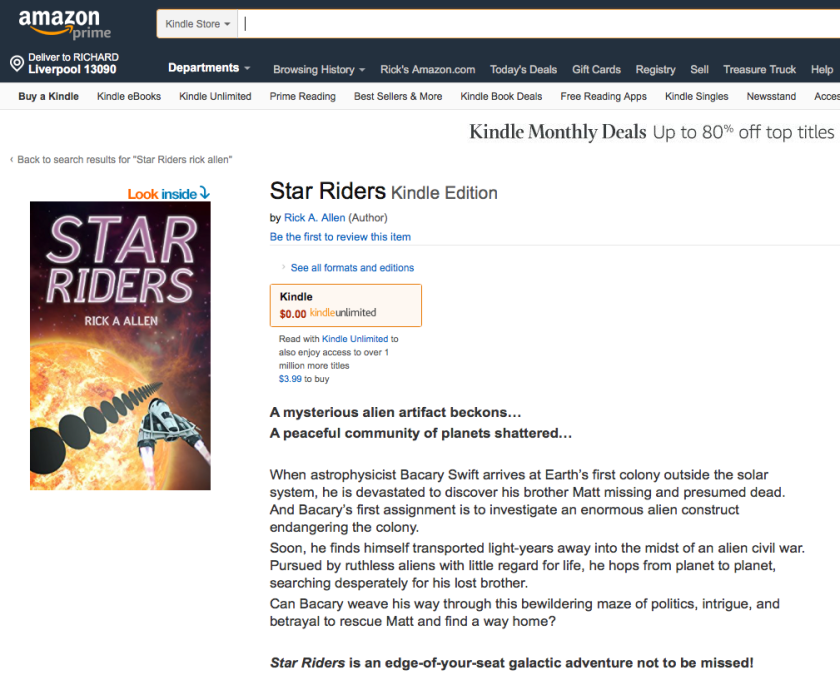 Star Riders on Amazon
